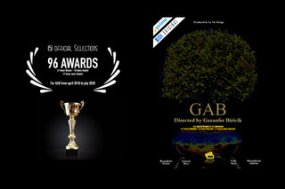"🇺🇸 ""GAB"" directed by Gazanfer BIRICIK is 151 selections & 96 awards"