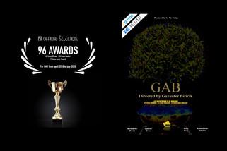 "🇺🇸 ""GAB"" directed by Gazanfer BIRICIK is 154 selections & 101 awards"