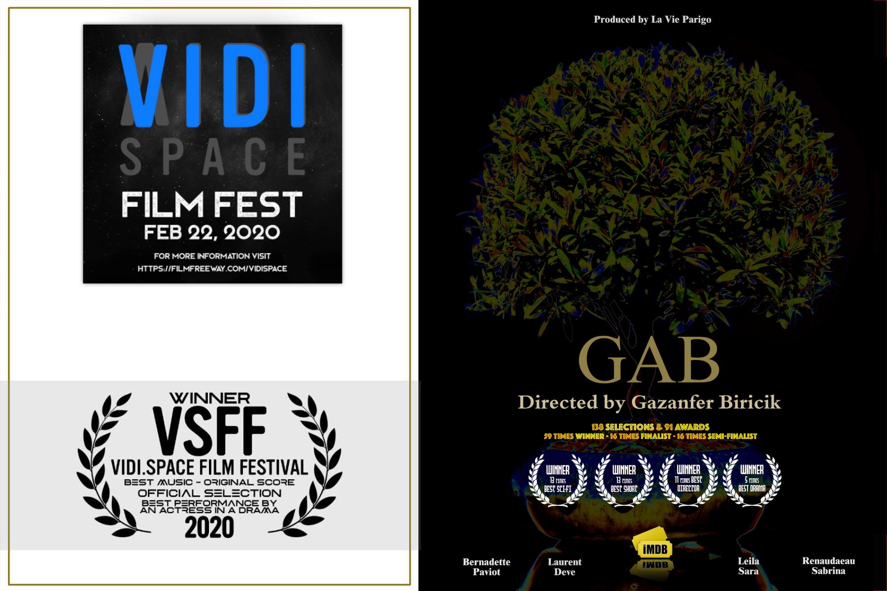GAB is winner at VIDI Space !