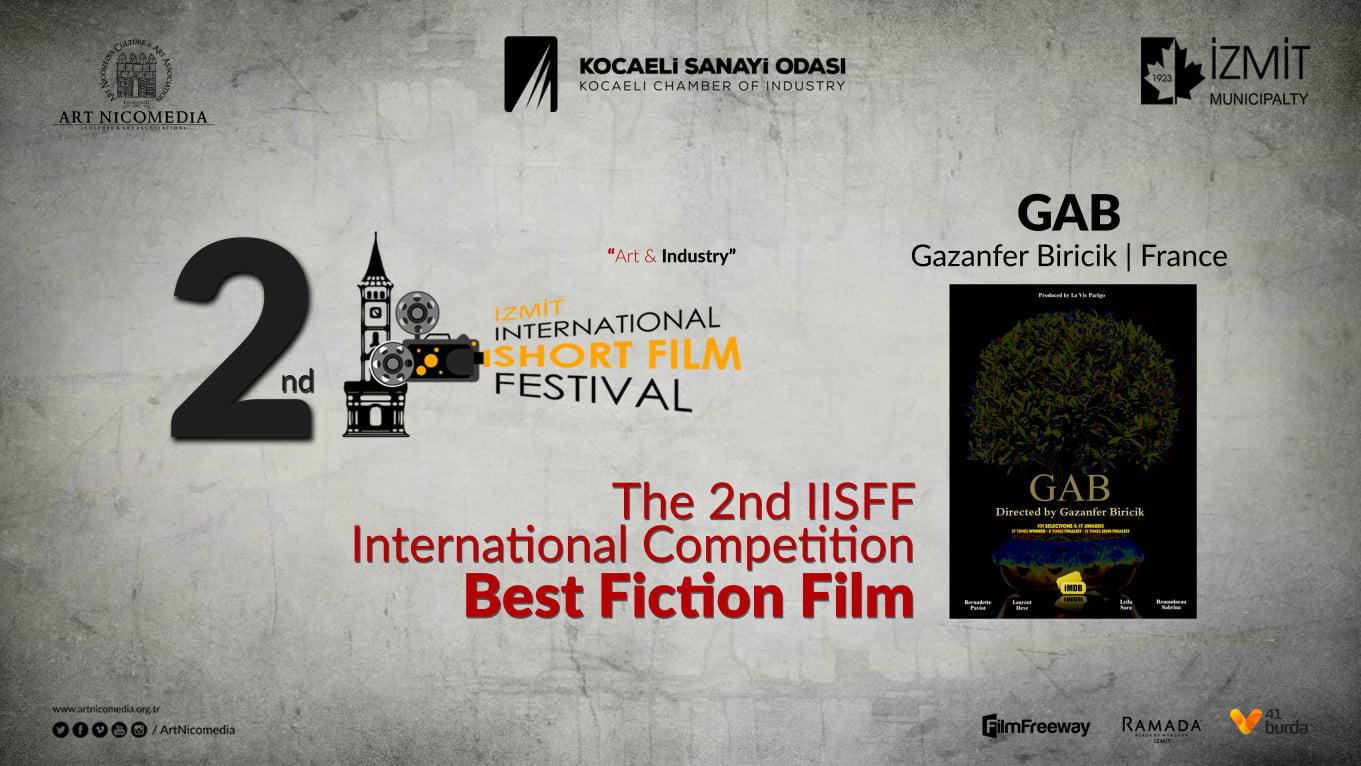 Winner as Best Sci-Fi at IISFF