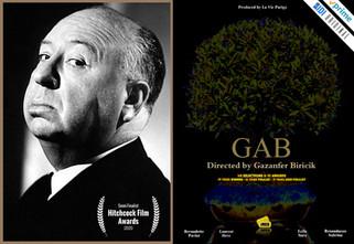 🇺🇸 GAB is Semi-Finalist at Hitchcock Awards in UK !