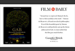 "Interview Gazanfer Biricik ""film daily"""