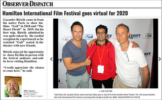 🇺🇸 Observer-Dispatch : Mike Jaquays talks about Gazanfer BIRICIK & Hamilton International Film