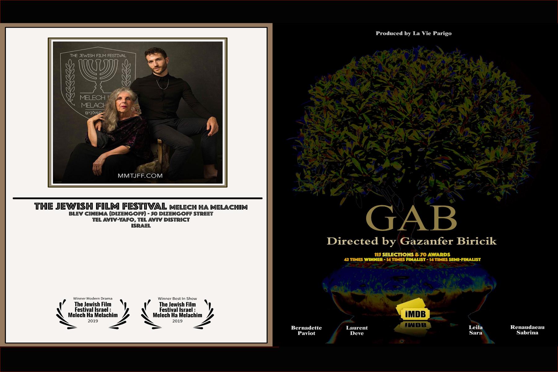 GAB winner at Tel Aviv in Israel !