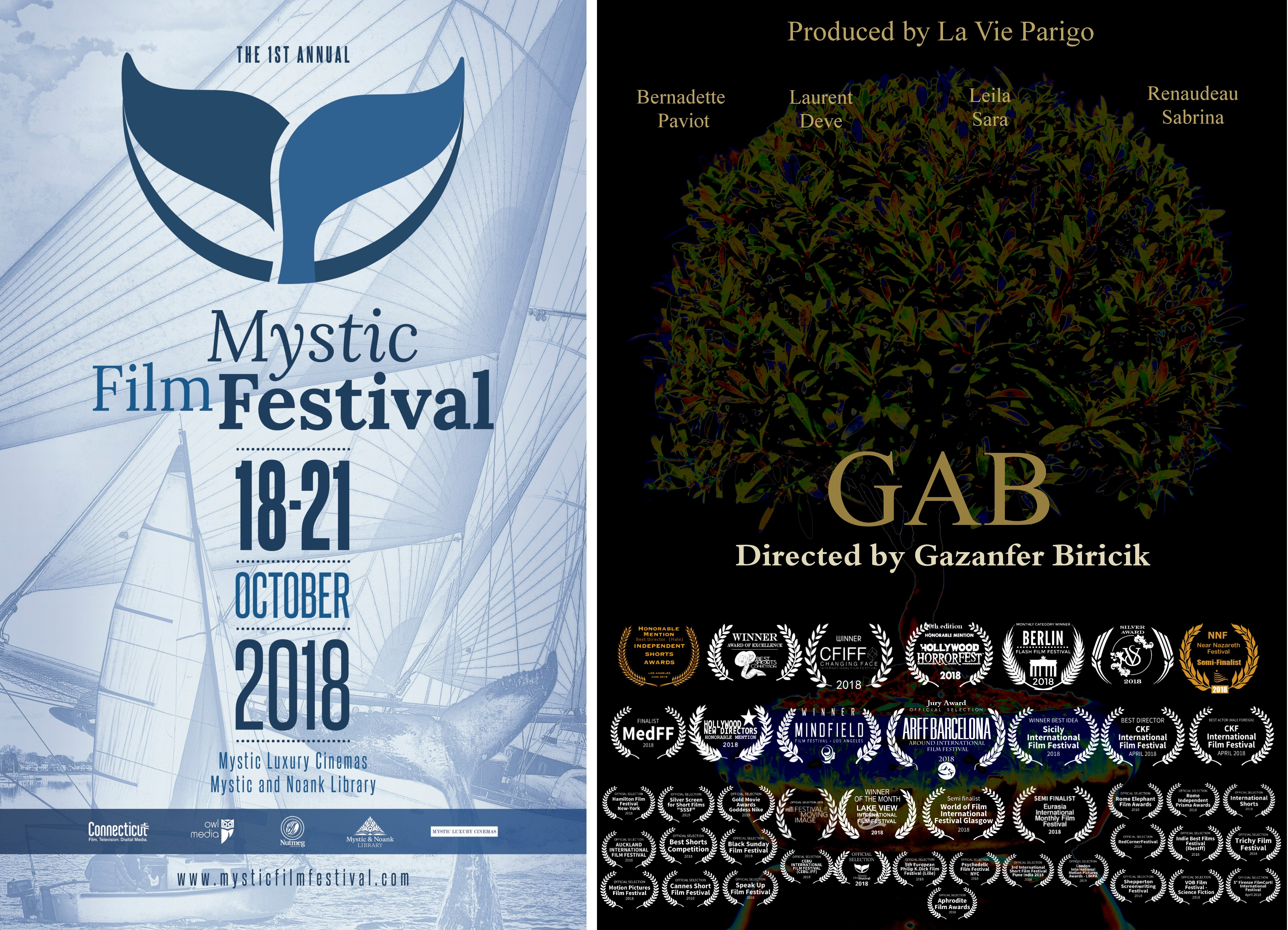 GAB selected to Mystic Film Festival