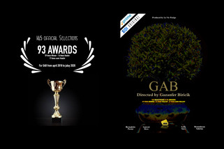 "🇺🇸 ""GAB"" directed by Gazanfer BIRICIK is 149 selections & 95 awards"
