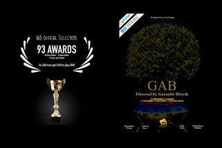 "🇺🇸 ""GAB"" directed by Gazanfer BIRICIK is 149 selections & 95 awards"