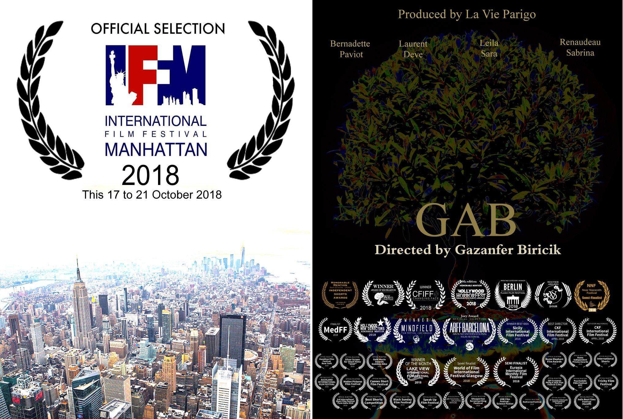 GAB selected at IFFM 2018 !
