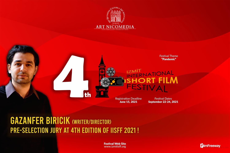 Gazanfer BIRICIK Pre-selection Jury at 4th IISFF Izmit !