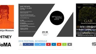 """Sélection de GAB pour le festival """"THE ARTISTS FORUM"""" à New York."""