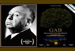 GAB IS SEMI-FINALIST AT HITCHCOCK FILM A