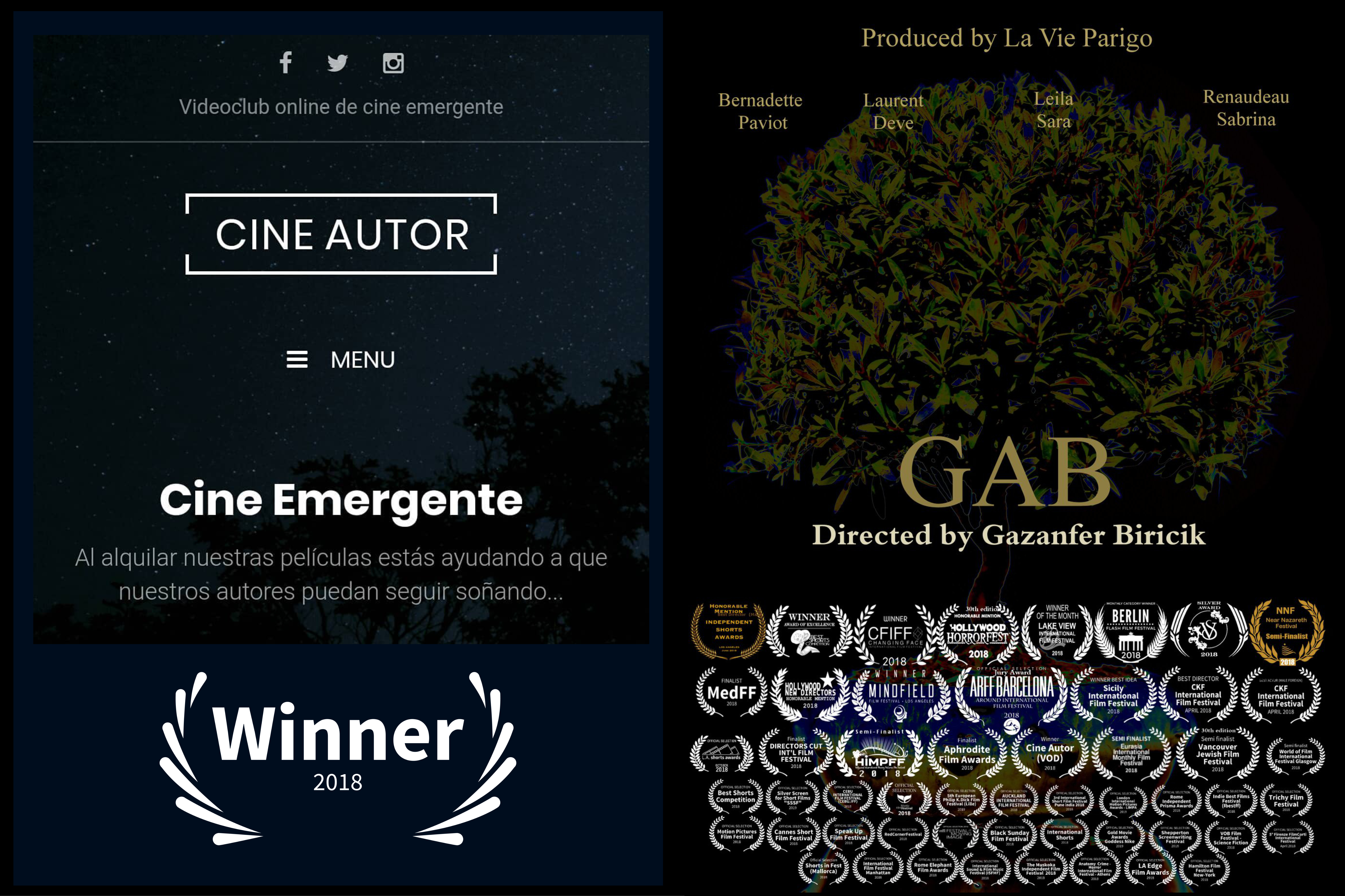 One new award for GAB from Spain !