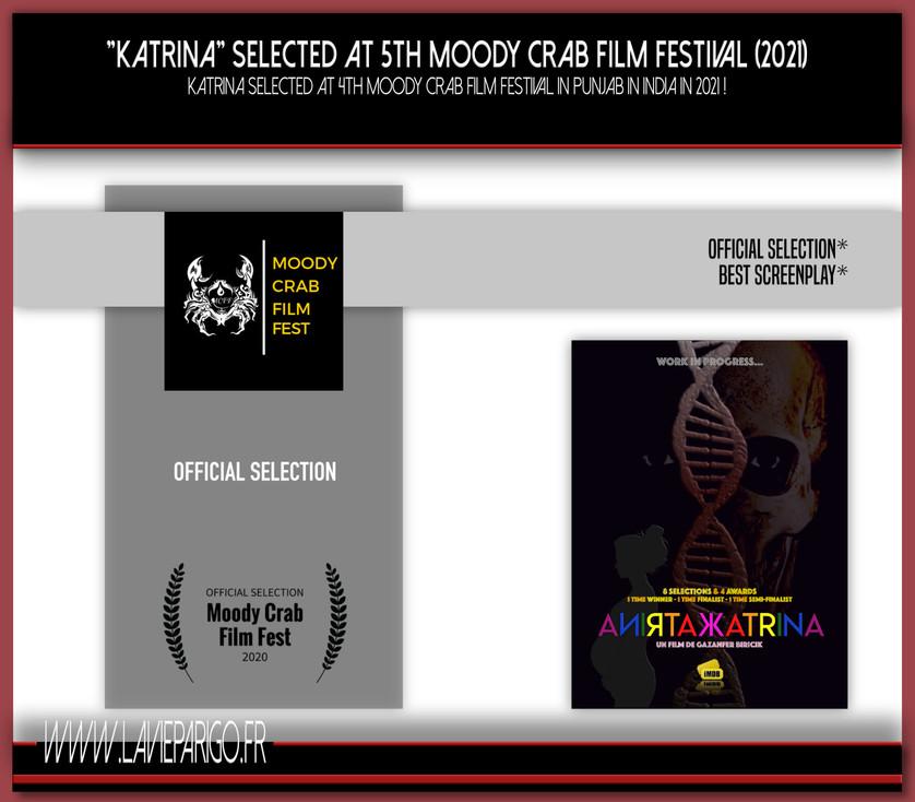 KATRINA selected att 4th Moody Crab Finm Fest (2020)