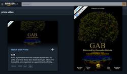 GAB - Now available on Amazon Prime USA