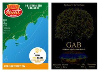 Sélection de GAB au Cannes Short Film Festival : programme