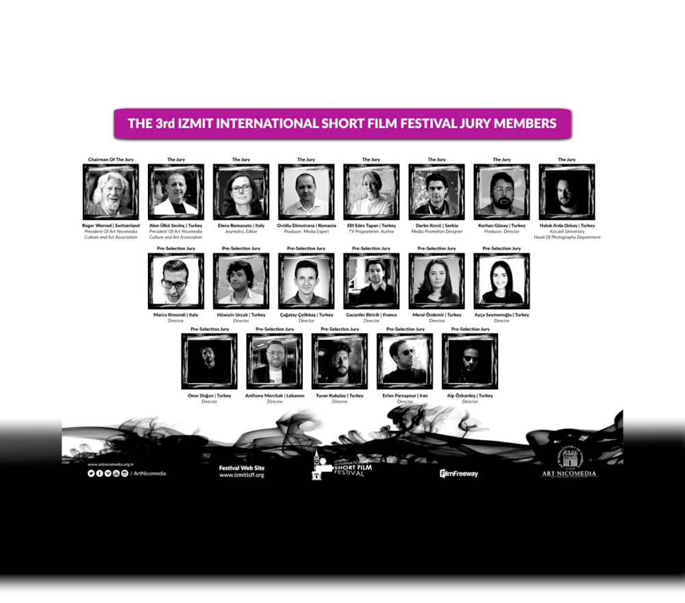 Gazanfer BIRICIK Jury at IISFF 2020 !