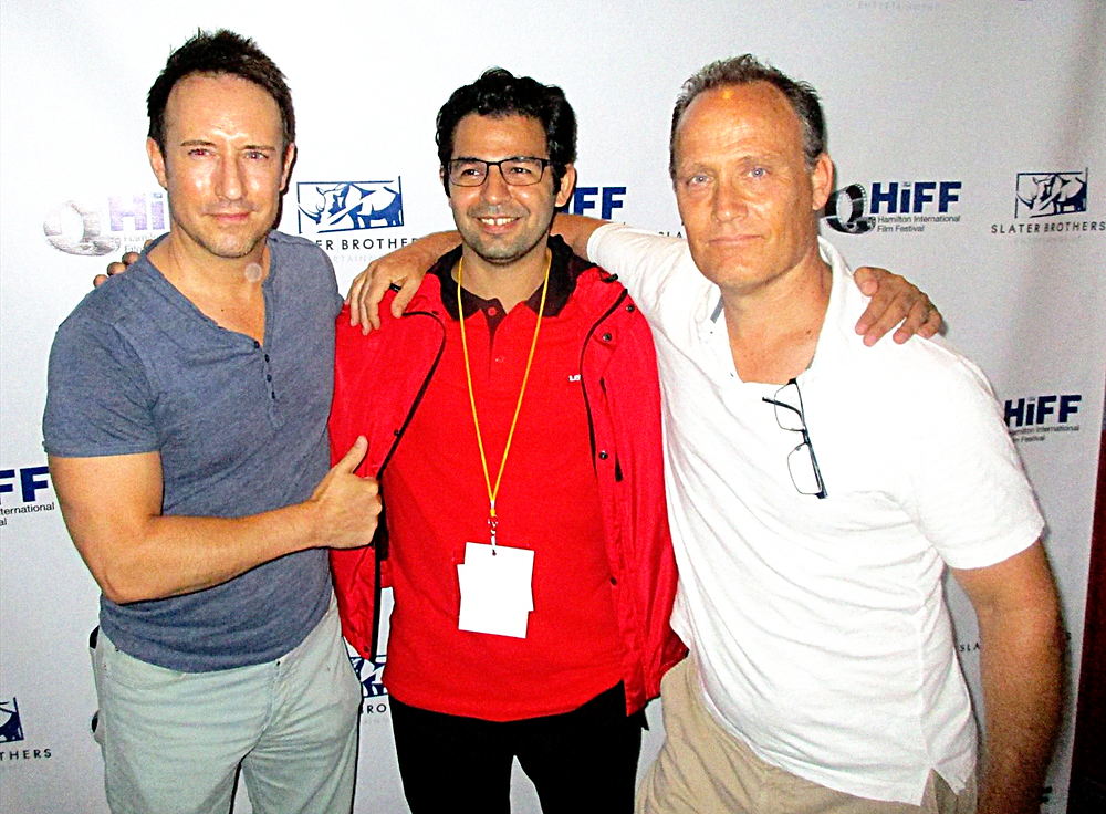 Grant & Todd Slater with Gazanfer BIRICIK at HIFF 2018