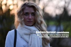 """Barbara Boronat dans """"Le Tombeur"""""""