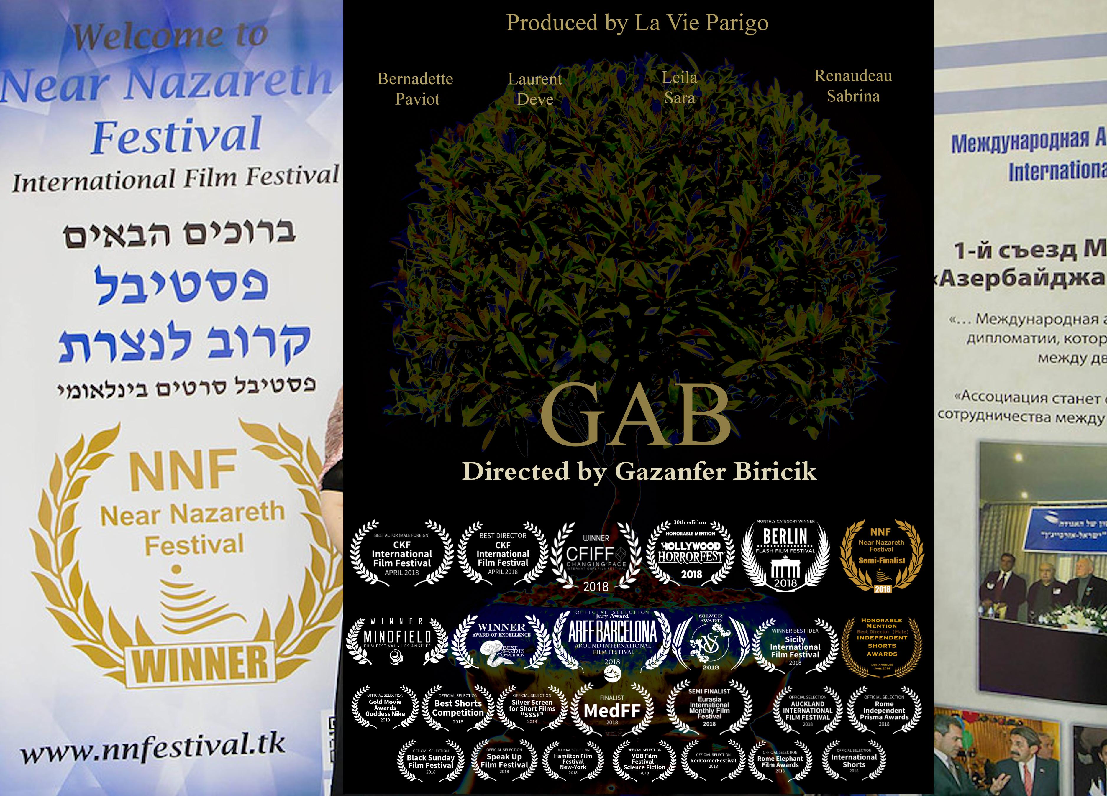 GAB à Near Nazareth Film (Israël)