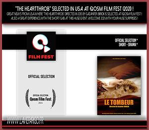 Le Tombeur At Qosm Film Festival !
