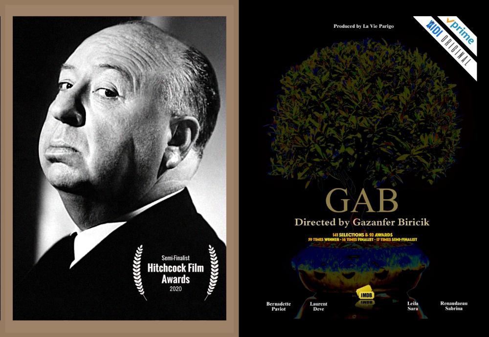 GAB IS SEMI-FINALIST AT HITCHCOCK FILM AWARD