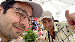 Gazanfer BIRICIK with Rashed M'dini at 74th Festival de Cannes !