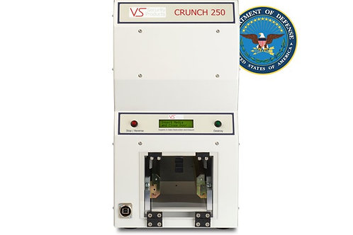 Crunch 250 HDD Destroyer with standard 1 year warranty