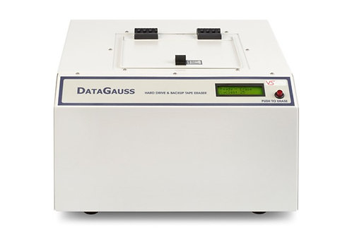 Buy The DataGauss Max Degausser with Extended  warranty to 5 year warranty