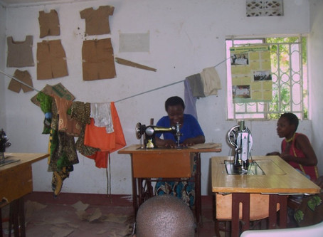 Partnership with African Women's Dignity Foundation, Uganda
