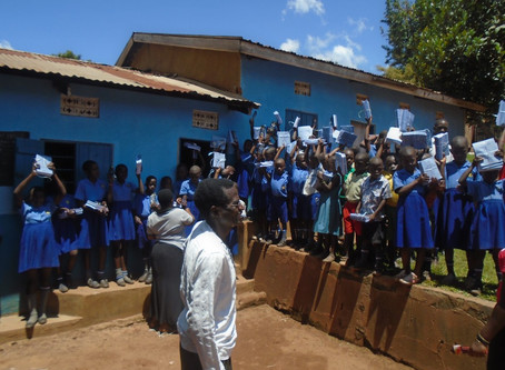 Anike Foundation Provides School Supplies to St. Mary's Junior School