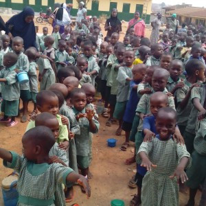 Anike Foundation Distributes Exercise Books to Elementary Schools in Oyo, Nigeria