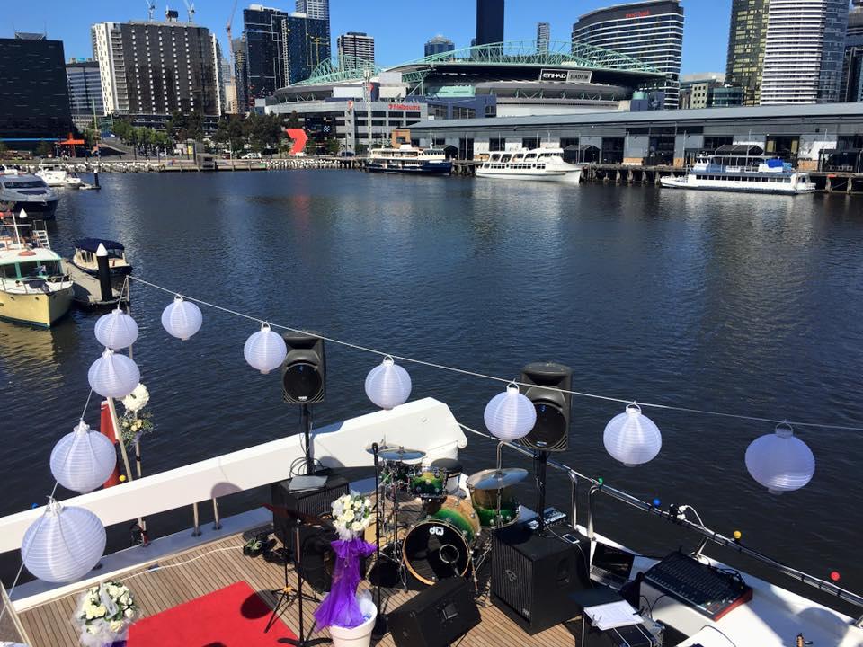 Docklands Yacht Wedding