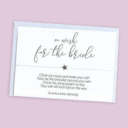 A Wish For The Bride Bracelet