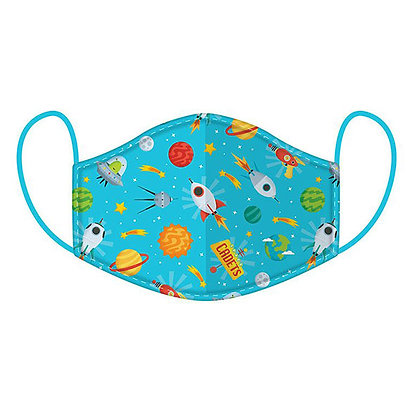 Childrens Space Cadet Washable Face Covering