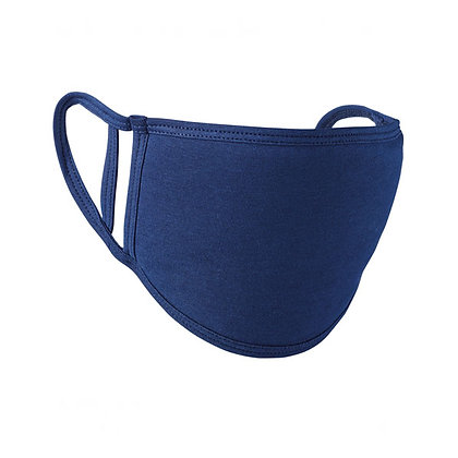 Adults Navy Blue Washable Face Covering