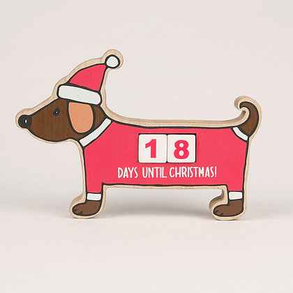 Dachshund / Sausage Dog Christmas Countdown