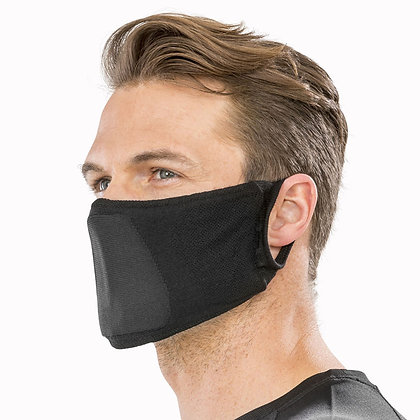 Adults Black Washable Face Covering