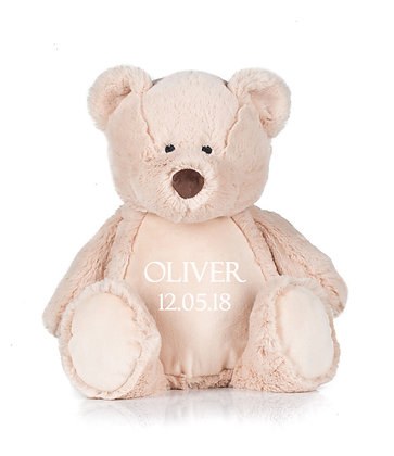 Personalised Snuggly Teddy Bear Soft Toy