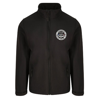 Hardknocks Amateur Boxing Club Kit - Black Unisex Soft Shell Jacket