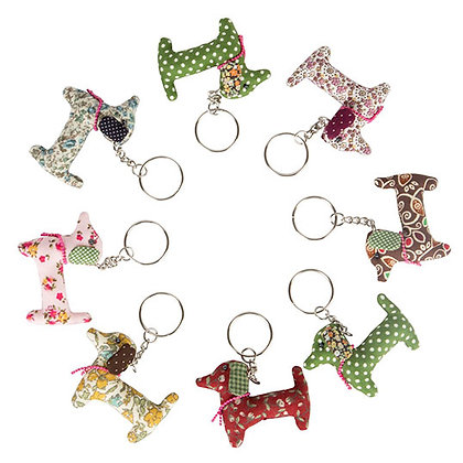 Dachshund / Sausage Dog Key Ring