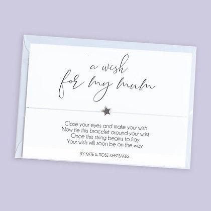 A Wish For My Mum Bracelet