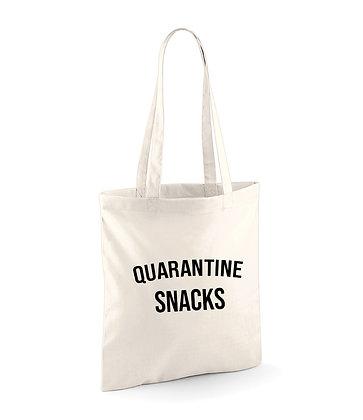 Quarantine Snacks Tote Bag