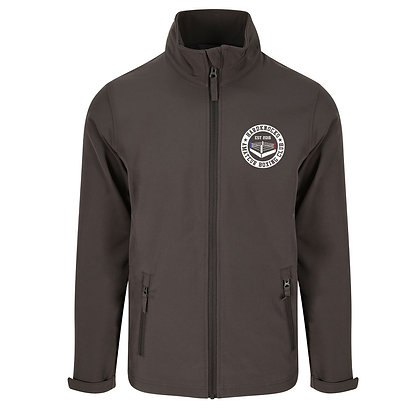 Hardknocks Amateur Boxing Club Kit - Grey Unisex Soft Shell Jacket