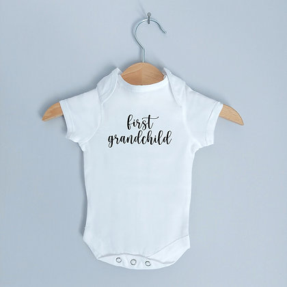 First Grandchild Baby Bodysuit / Babygrow