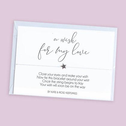 A Wish For My Love Bracelet