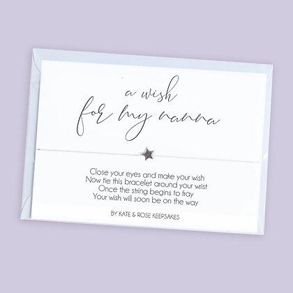 A Wish For My Nanna Bracelet