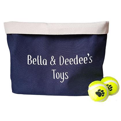 Personalised Dog/Pet/Toy Storage Basket