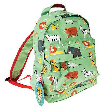 Kids Mini Animal Zoo Backpack With Optional Personalisation