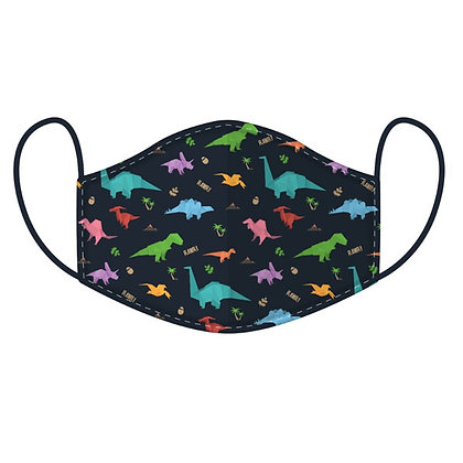 Childrens Dinosaur Washable Face Covering