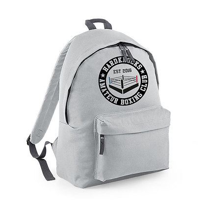 Hardknocks Amateur Boxing Club Kit - Grey Backpack